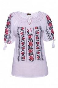 Bluza dama tip ie Alb dae502