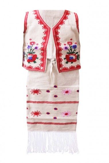 Set vesta si fota pentru fete traditional DAE3883