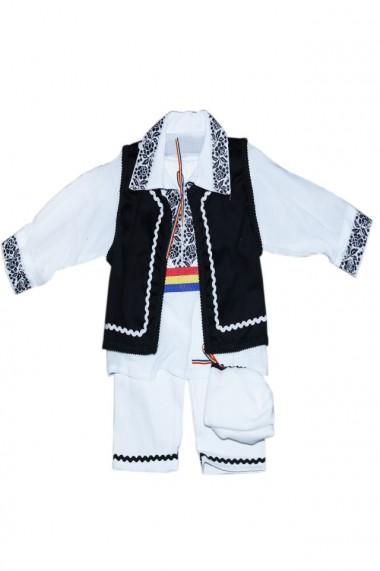 Costum traditional 5 piese de botez baieti dae4151