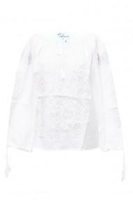 Bluza dama tip ie brodata traditionala Alb dae5120