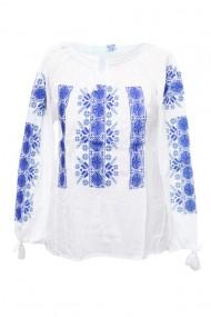 Bluza dama tip ie brodata traditionala Alb dae4989
