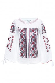 Bluza dama tip ie brodata traditional Alb dae5769
