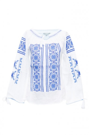 Bluza dama tip ie brodata traditional Alb dae5770