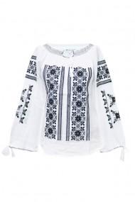 Bluza dama tip ie brodata traditional Alb dae5771