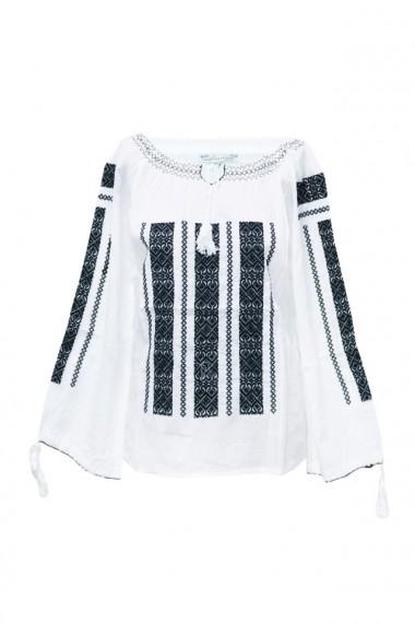 Bluza dama tip ie brodata traditional Alb dae5775