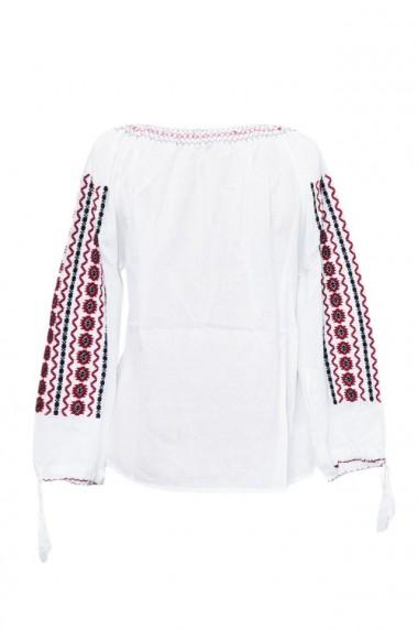 Bluza dama tip ie brodata traditional Alb dae6897