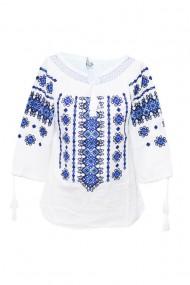 Bluza dama tip ie brodata traditional Alb dae6898
