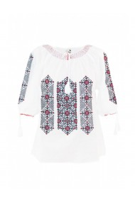Bluza dama tip ie brodata traditional Alb dae8113