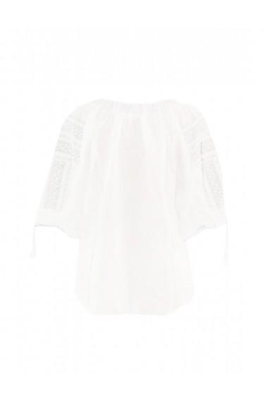 Bluza dama tip ie brodata traditional Alb dae8119