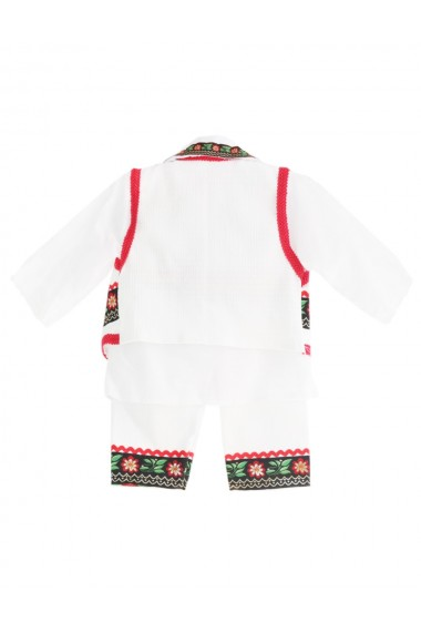 Costum traditional 5 piese de botez baieti dae8202