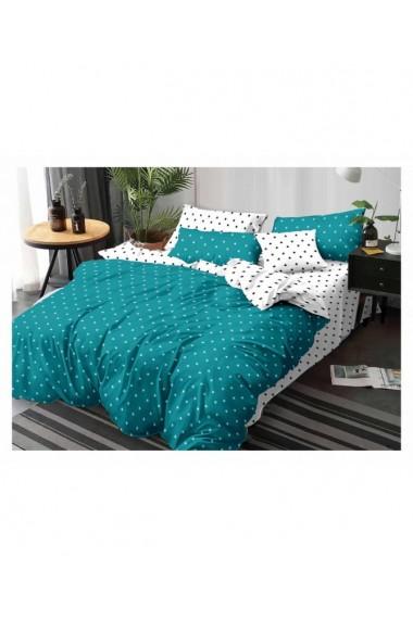 Lenjerie de pat cu stelute 220x230 cm 6 piese DAE8378
