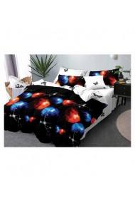 Lenjerie de pat cu fluturi 220x230 cm 6 piese DAE8382
