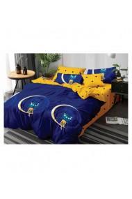 Lenjerie de pat pentru copii-semiluna 220x230 cm 6 piese DAE8406
