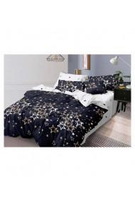 Lenjerie de pat cu stelute 220x230 cm 6 piese DAE8407