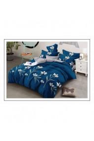 Lenjerie de pat cu flori-margarete 220x230 cm 6 piese DAE8413