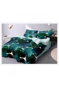 Lenjerie de pat cu model geometric 220x230 cm 6 piese DAE8417