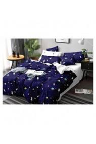 Lenjerie de pat pentru copii cu planete 220x230 cm 6 piese DAE8422