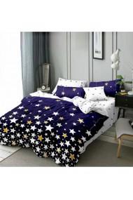Lenjerie de pat cu stelute 220x230 cm 6 piese DAE8570