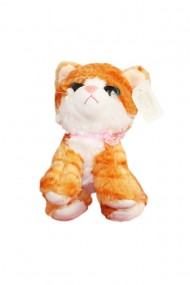 Jucarie de plus Pisica cu sunet 23 cm dae5643