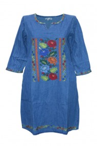 Rochie de zi bleumarin DAE6153