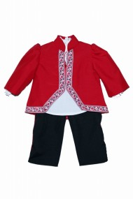Costum traditional 3 piese de botez baieti dae6644