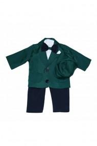 Costum casual pentru baieti 5 piese verde dae6645