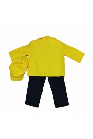 Costum casual pentru baieti 5 piese galben dae6646