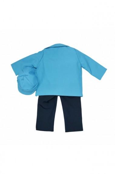 Costum casual pentru baieti 5 piese bleu dae6648