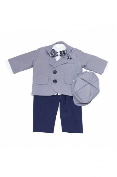 Costum casual pentru baieti 5 piese gri dae6651