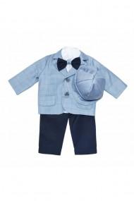 Costum casual pentru baieti 5 piese gri dae6653