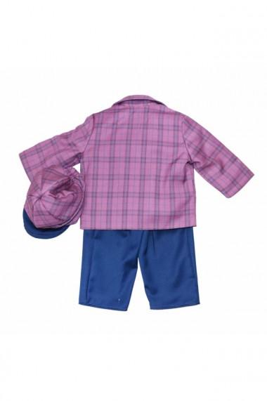 Costum casual pentru baieti 5 piese roz pudrat dae6654