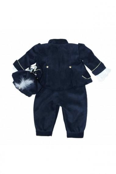 Costum Prinț pentru băieți 5 piese Bleumarin dae6658