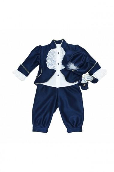 Costum Prinț pentru băieți 5 piese Bleumarin dae6659
