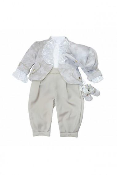 Costum Prinț pentru băieți 5 piese Bej dae6660