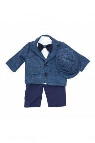 Costum pentru băieți 5 piese bleumarin dae6664