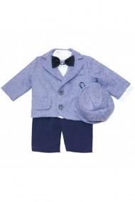 Costum pentru băieți 5 piese Bleu dae6665
