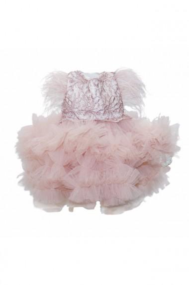 Rochita Princess pentru fete 2 piese Roz pudrat dae6669