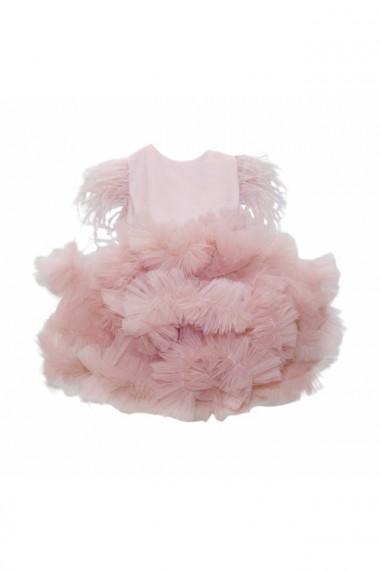 Rochita Princess pentru fete 3 piese Roz pudrat dae6671