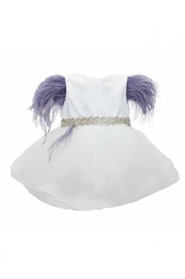 Rochita Princess pentru fete 2 piese Alb dae6672