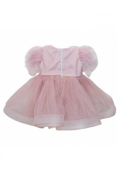 Rochita Princess pentru fete 2 piese Roz pudrat dae6673