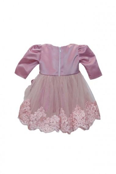 Rochita pentru fete 3 piese Roz pudrat dae6681