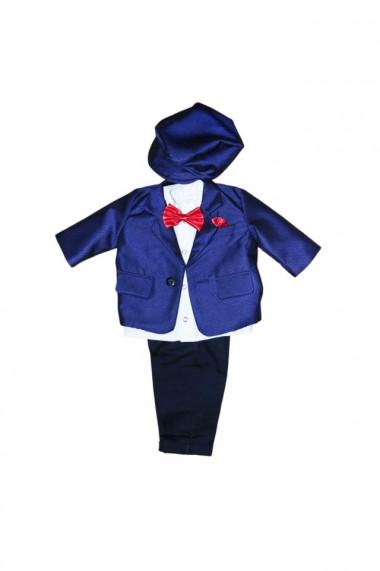 Costum pentru băieți 5 piese negru-albastru electric dae6933
