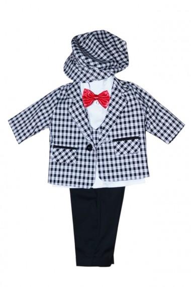 Costum pentru băieți 5 piese negru-gri dae6935