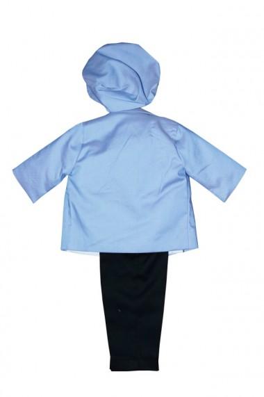Costum pentru băieți 5 piese negru-bleu dae6936