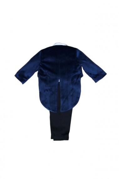 Costum frac pentru băieți 4 piese negru-bleumarin dae6938