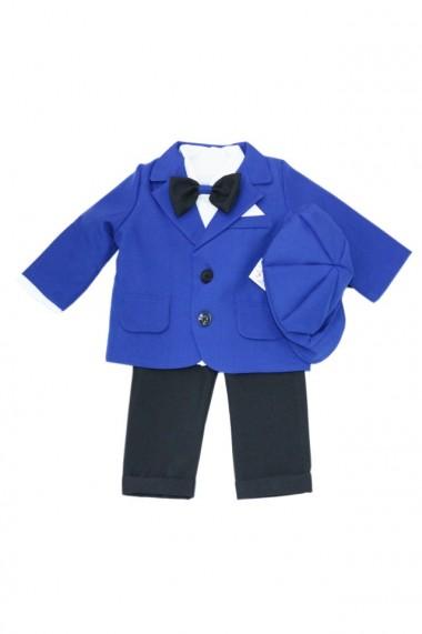Costum casual pentru baieti 5 piese albastru electric dae6968