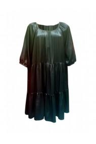 Rochie pentru dama din casmir negru DAE8070