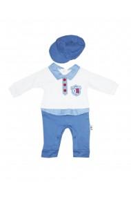 Set 2 piese bebe salopeta sapca Albastru dae8215