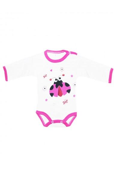 Body pentru fete alb/roz dae8224