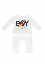 Compleu pentru fete din 2 piese bebe bluza pantaloni crem dae8229